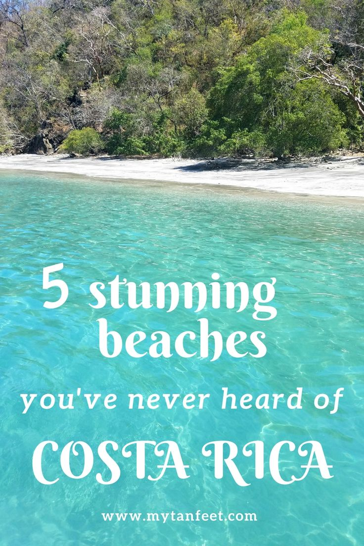 5 stunning beaches in Guanacaste, Costa Rica that are boat access only or very unknown