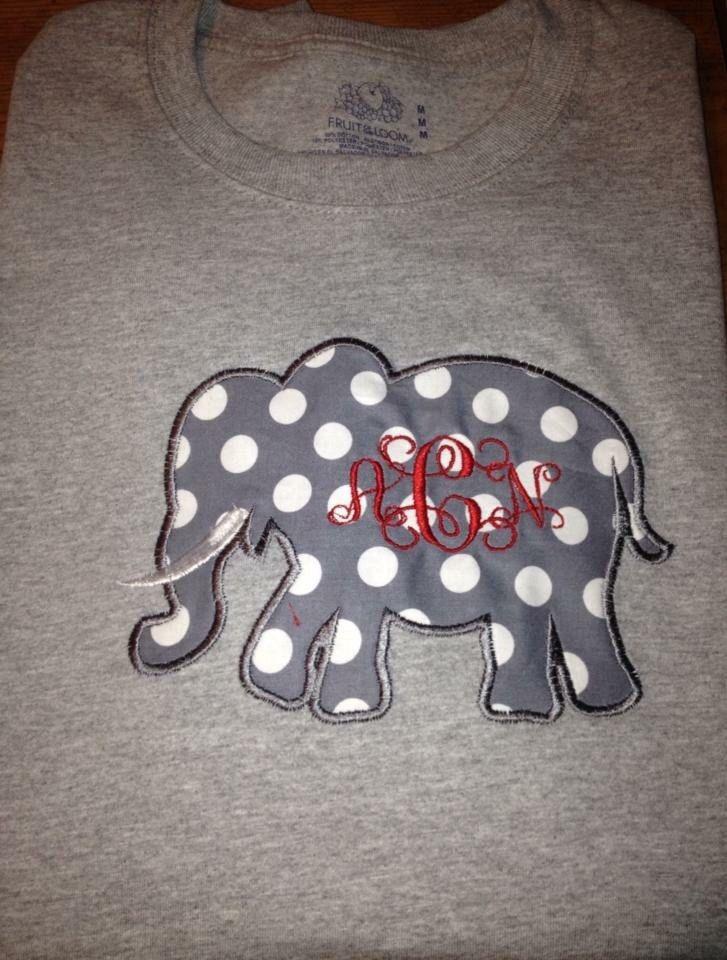 Alabama Football Sweatshirt, Alabama Applique, Elephant Applique by MarysCottonShoppe on Etsy
