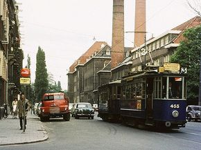 Gvb Amsterdam 453, Lijn (3 Ruyschstraat 1967  Vintage Collection of GVB