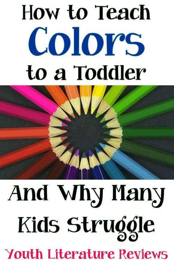 Enseñar los colores a los preescolares