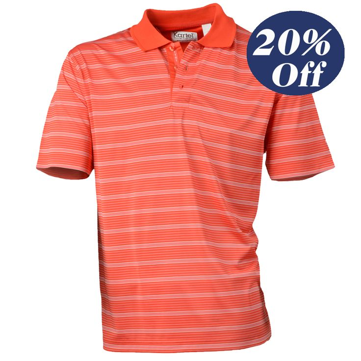 SOLD OUT  Was $70 Now $56   Stylish Men's Performance Golf Shirt