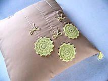 Úžitkový textil - alchýmia Primula veris... - 4494094_
