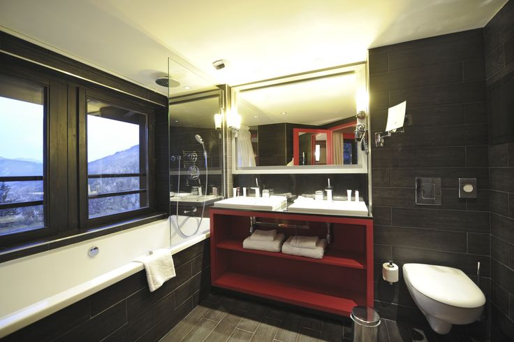 Elegant and sophisticated, the ensuites at Valmorel offer simple luxury, featuring striking views over the picturesque mountain ranges.