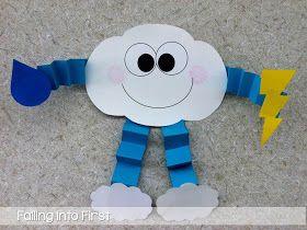 Cloud craft for weather unit. #weatherunit