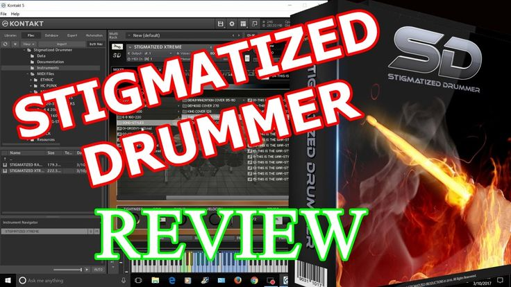 Stigmatized Drummer REVIEW & DEAL !! -  Metal Drumming Kontakt Library VST
