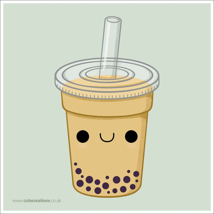 COMMISSION: Bubble Tea by *Cute-Creations on deviantART