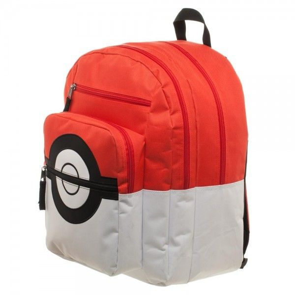 Pokemon Pokeball Backpack Take your supplies in this cool backpack, while you are out catching them all. #pokemon #Poke #mon #pokeball #game #gamer #kid #kids #girl #girls #boy #boys #videogame #games #videogames #nintendo #school #backtoschool #backpack #fashion #cool #nerd #nerdy #geek #geeky