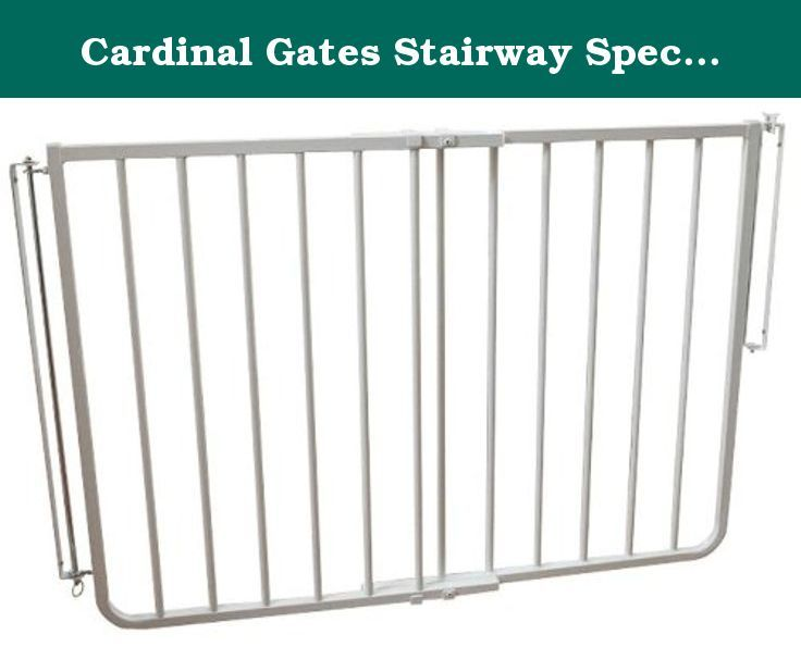 Cardinal Gates Stairway Special Safety Gate   SS 30   White   27 To 42.5