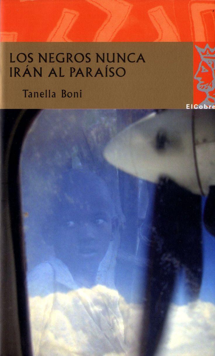 """Novela protagonizada por una mujer negra que se cruza en un aeropuerto con un hombre blanco vestido con un bubú, la indumentaria tradicional africana. Se queda intrigada cuando le oye gritar """"¡Los negros nunca irán al paraíso!"""". Se sienta entonces a su lado en el avión y él empieza a contarle su historia."""