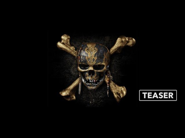 Teaser Trailer: Pirates of the Caribbean: Dead Men Tell No Tales - http://www.webmarketshop.com/teaser-trailer-pirates-of-the-caribbean-dead-men-tell-no-tales/