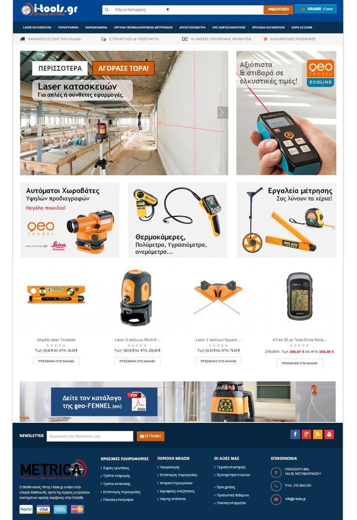 Με χαρά σας ανακοινώνουμε το νέο έργο μας, την κατασκευή της ιστοσελίδας του διαδικτυακού καταστήματος i-tools.gr! http://jalp.gr/portfolio-2/item/52-i-tools