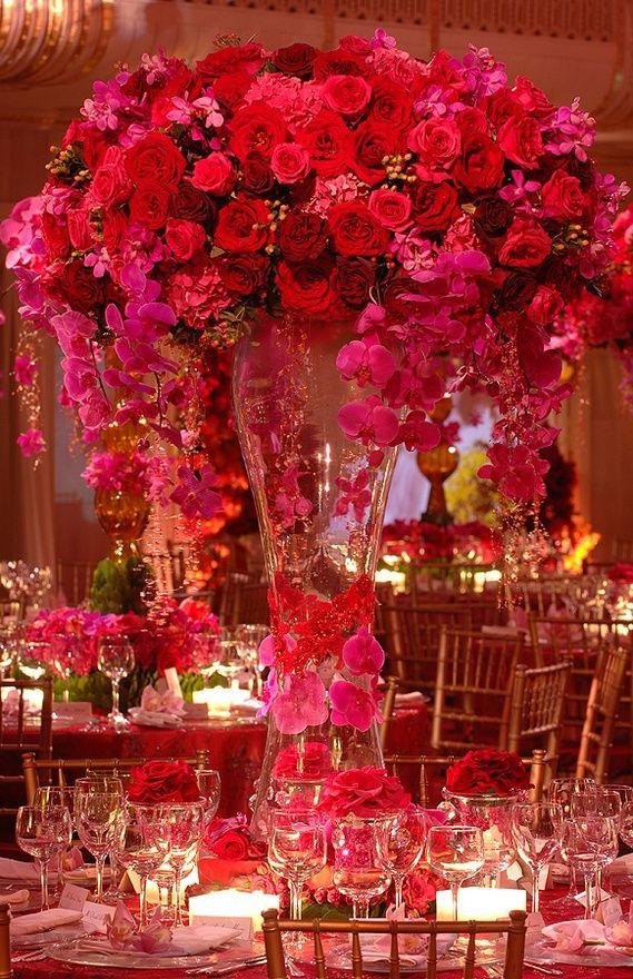 Best red flower arrangements bouquets images on