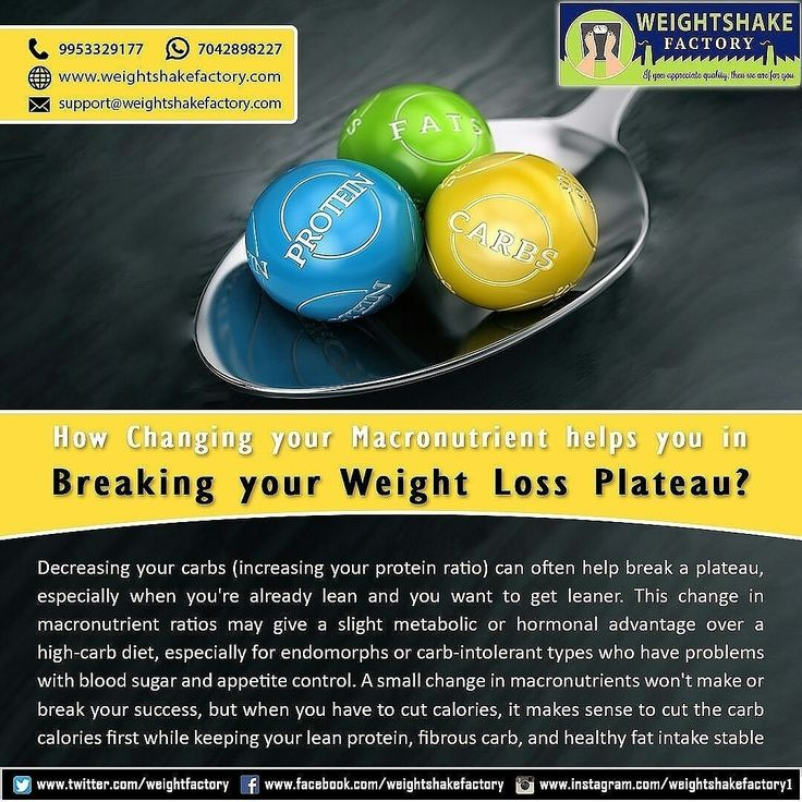 HOW CHANGING YOUR MACRONUTRIENT HELPS YOU IN BREAKING YOUR WEIGHT LOSS PLATEAU?  https://www.instagram.com/p/BfVDHDRDviY/