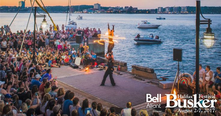 Bell Aliant presents Halifax Busker Festival | August 2 to August 7, 2017 | Halifax Waterfront