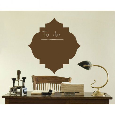 Piazza Chalkboard Stencil. Buy it here for only $9.95 >> http://www.cuttingedgestencils.com/piazza-chalkboard-paint-paint-wall-stencil.html?utm_source=JCG&utm_medium=Pinterest&utm_campaign=Piazza%20Chalkboard%20Stencil