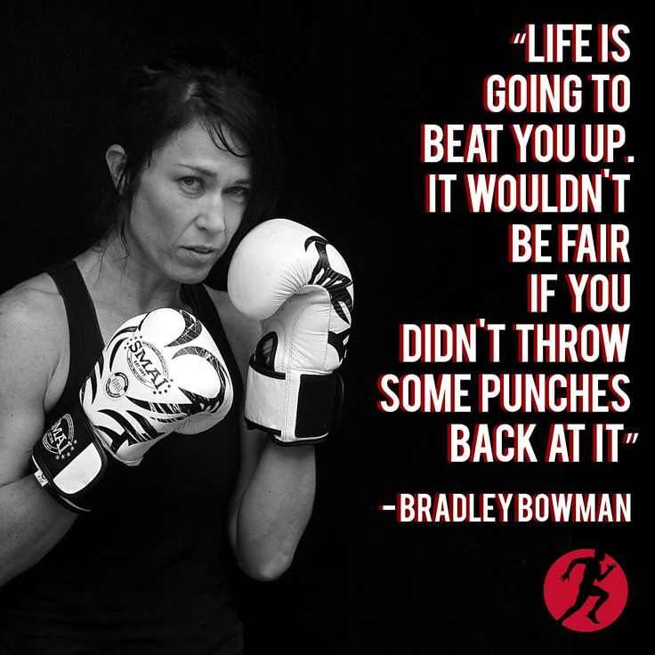 Life is going to beat you up. Throw punches back. #motivation #inspiration #quote