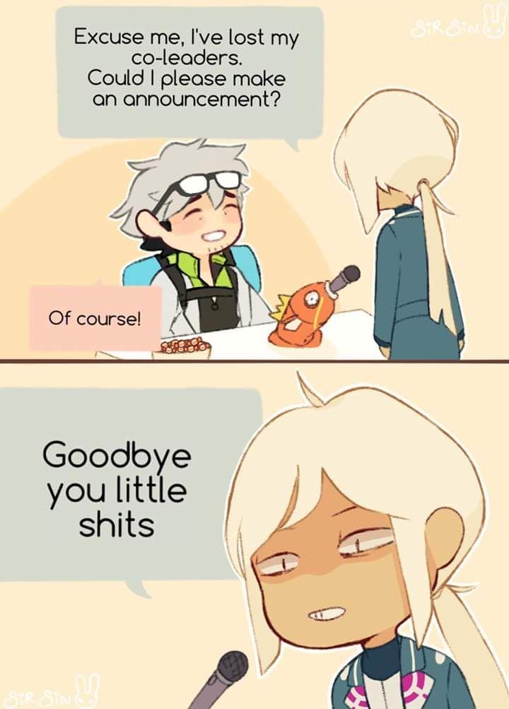 Blanche has had enough