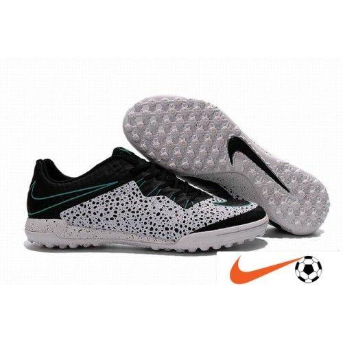 Billige Fodboldstøvler Tilbud - Nike HypervenomX Finale TF Hvid/Sort/Grøn Turf Fodboldstøvler
