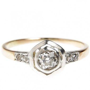 Pierścionek, Nr. ID 1146 złoto, diament - Desa Biżuteria