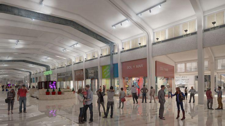 https://flic.kr/s/aHskFca2ho | MallPlaza Barón  | Nuevos render producidos por VOXEL 3D, del proyecto de Mall Plaza en el Muelle Barón.