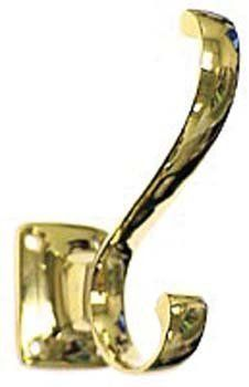 Deltana CAHH35U26D Heavy Duty Coat Hat Hook by Deltana. $10.50. Finish :Brushed Chrome, Size :3-1/2H Founded in 1977, Deltana is the architectural hardware manufacturer with a proven record for exceptional service and quality.Includes Matching Screws.