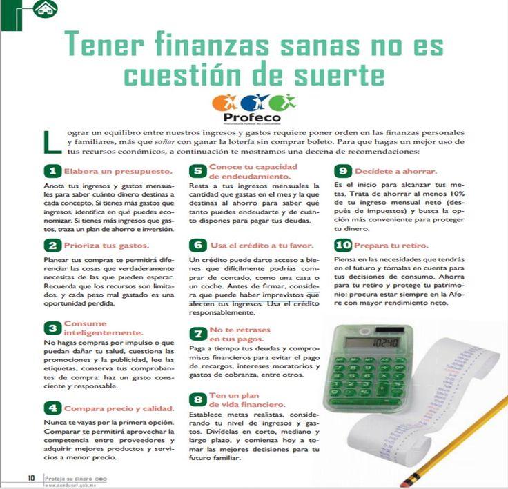 Tips para finanzas personales