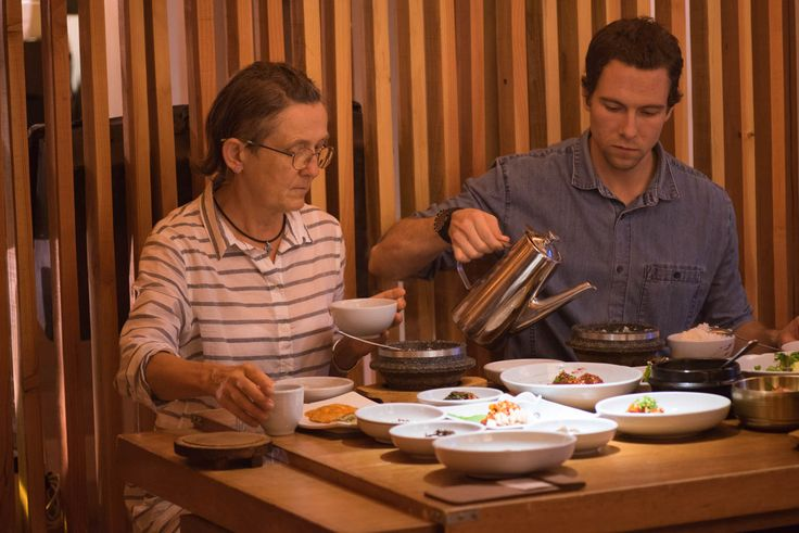 Chuncheon: At the best restaurant serving a lot off small dishes