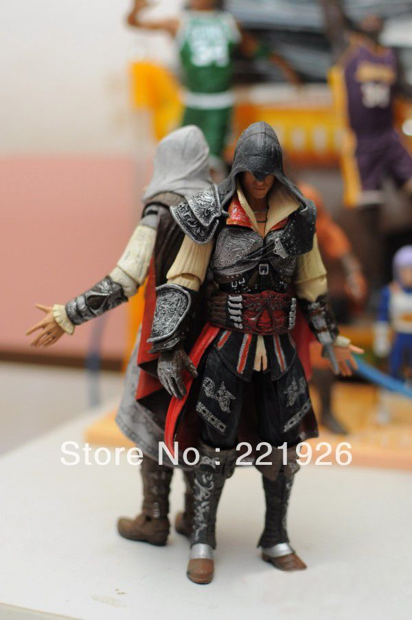 Cheap figure toy, Buy Quality figure toy story directly from China toy biz action figures Suppliers: 	  	  	  	  	  	  	  	  	  	Free Shipping Black NECA Assassin's Creed 2 Ezi