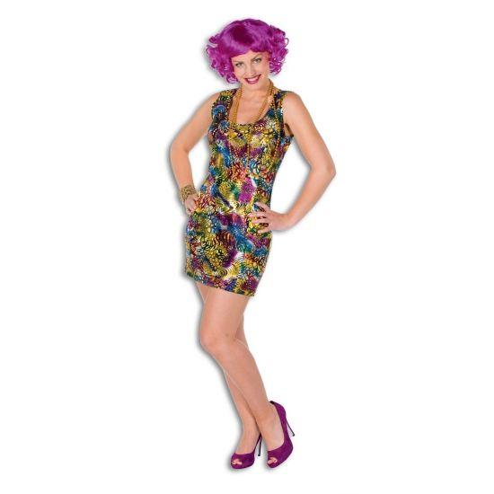 Jurkjes bij warenhuis Trendmax, Gekleude disco dames jurk,coloured,disco,discodress,discojurkje,discojurkjes,dress,dresses,gekleurd,gekleurde,jurk,jurken