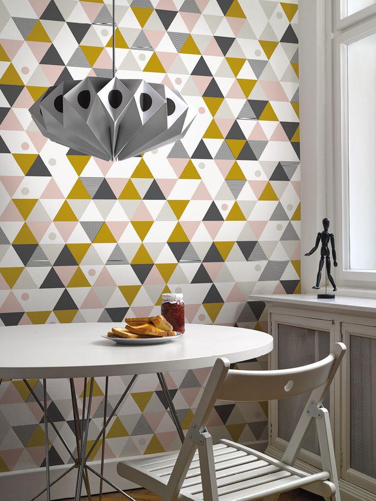 Camp / non-woven wallpaper / lavmi