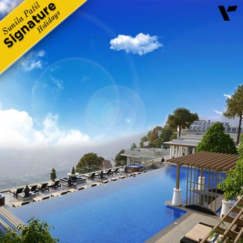 "#SignatureHoildays: Visit ""Moksha Himalaya Spa Resort"", with Sunila Patil's Signature Getaways. This luxury #resort and destination #spa at Parwanoo in #HimachalPradesh boasts of an outdoor heated infinity pool is its most iconic attraction."