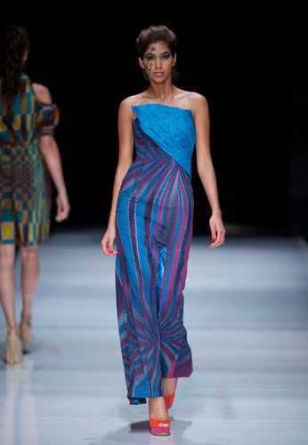 Fundudzi by Craig Jacobs S/S Collection 2012 | SA Fashion Week