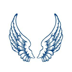 Largeangelwings Clip Art