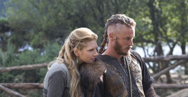 Lagertha and Ragnar   Vikings. History Channel.