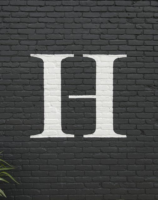 29 best images about swoonworthy walls on pinterest for Brick sign designs