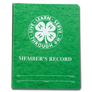 Do you still have your 4-H record book?