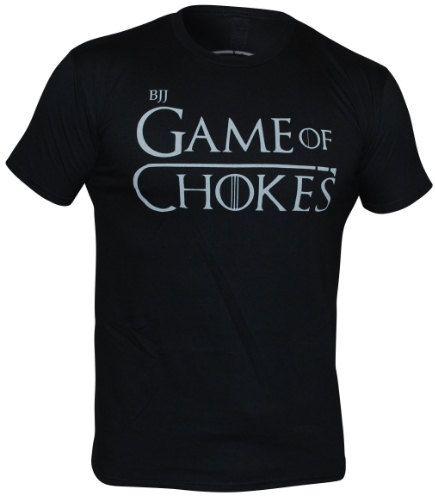 Game of Chokes Jiu Jitsu TShirt BJJ Brazilian by TotallyTShirts