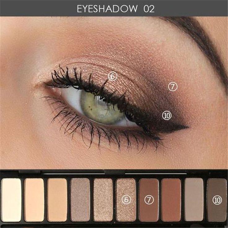 Augen Make-up Tutorial; Augen Make-up für braune Augen; Augen Make-up natürlich; #Augen Makeup   – Makeup
