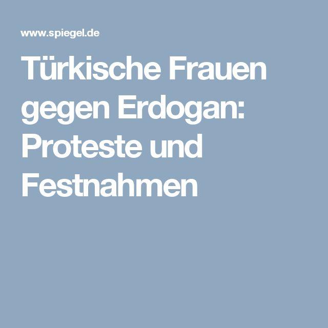 Türkische Frauen gegen Erdogan: Proteste und Festnahmen