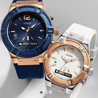 The Guess Smart Watch powered by Martian  Guess Watches has partnered with Martian to deliver a multi-function, chic smartwatch line, designed to include models for men and women.