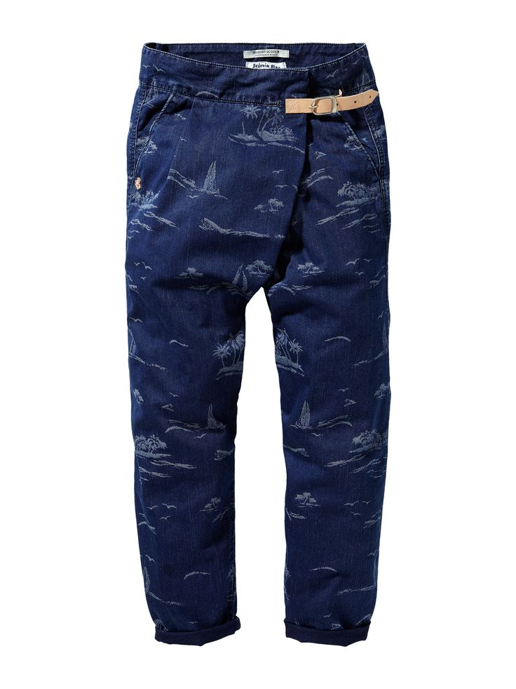 Wrap-around pants