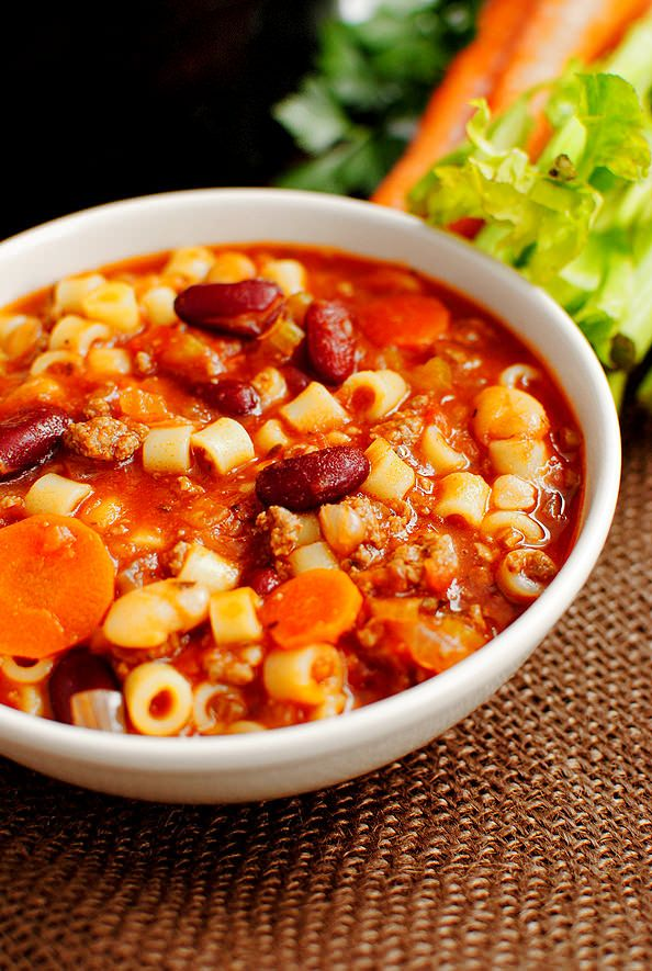 Copycat Olive Garden Pasta E Fagioli Soup Recipe