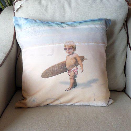 coussin bébé surfeur