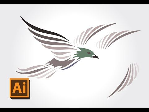 Adobe Illustrator Tutorials | how to converting image to illustrator auto path / Live Trace - YouTube
