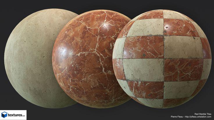 ArtStation - Marble Materials, Pierre FLEAU