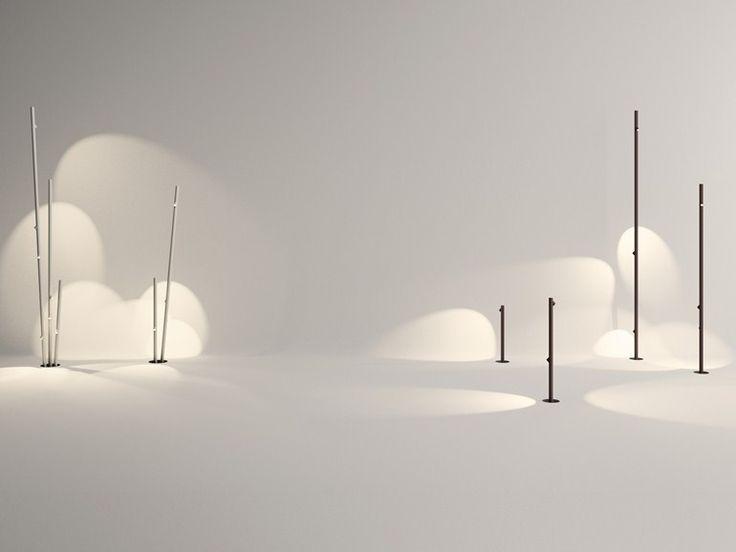 Lampada da terra a LED BAMBOO Collezione Bamboo by Vibia | design Antoni Arola, Enric Rodríguez