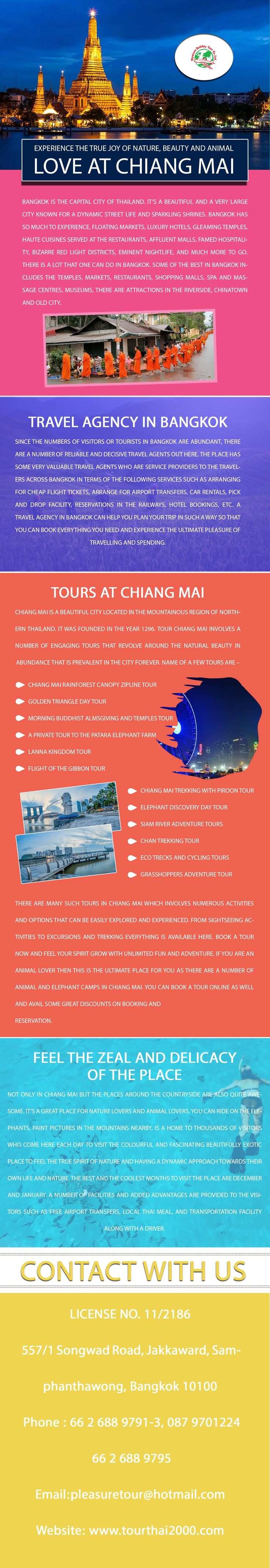 If you're travelling to Thailand for the first time, you'll probably arrive and stay in Bangkok to begin with. There are numerous areas of interest to travelers in Bangkok.