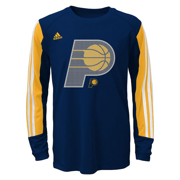 Boys 8-20 Adidas Indiana Pacers Prestige climalite Tee, Size: Small, Multicolor