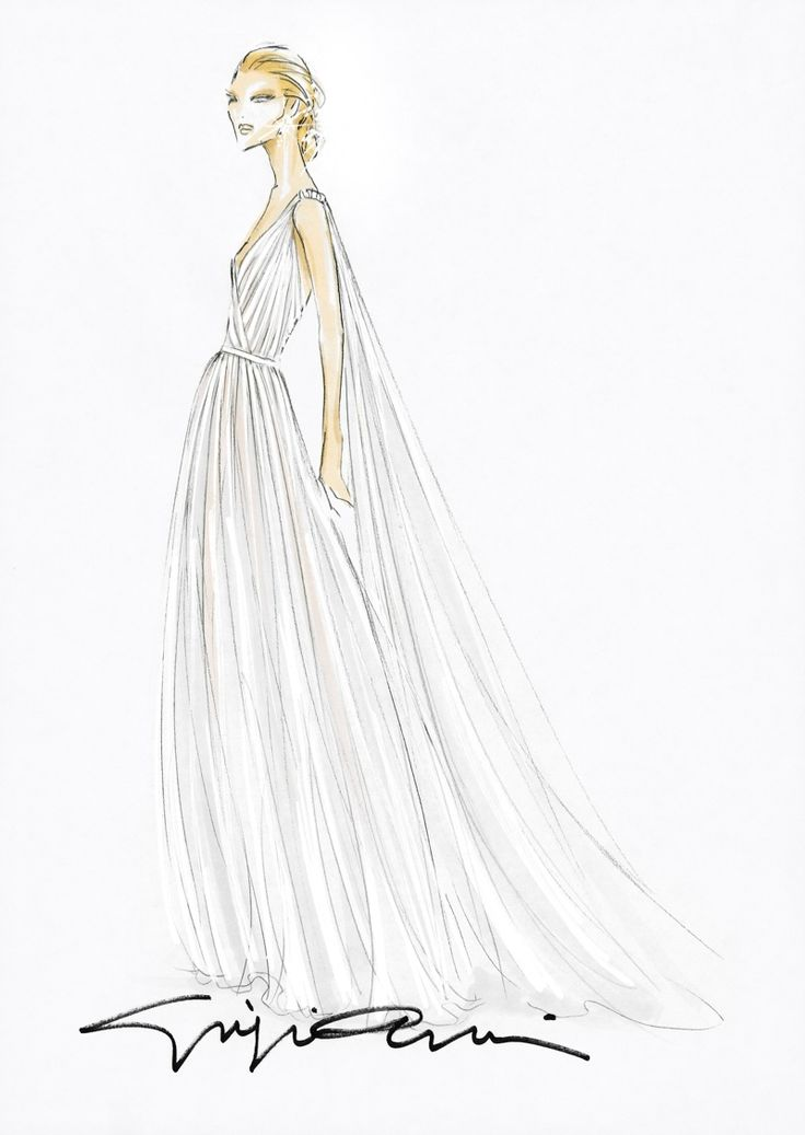 Wedding Gowns Sketches 72