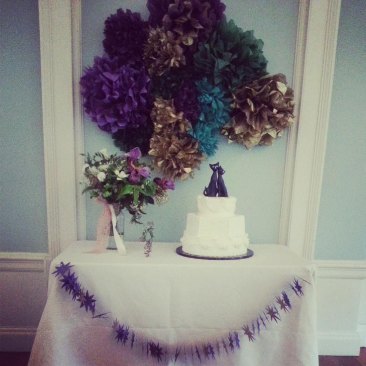 Wedding Cake Tables Decorating Ideas: 17 Best Images About Wedding Cake Table On Pinterest